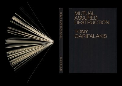 Tony Garifalakis book launch: Thursday 23 August – 6.00pm