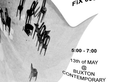 FiX performance at Buxton Contemporary – Monday 13 May, 5pm