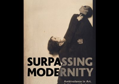 'Surpassing Modernity' by Professor Andrew McNamara: Public Lecture, Thursday 9 May 6pm