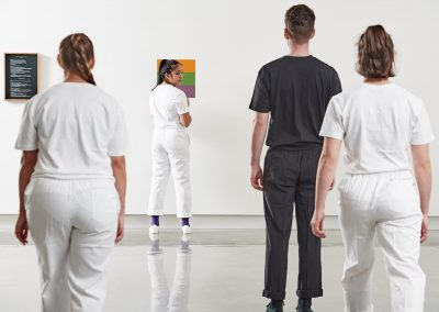 Triadic dance of the secondaries, Performance: Sunday 18 August, 2pm