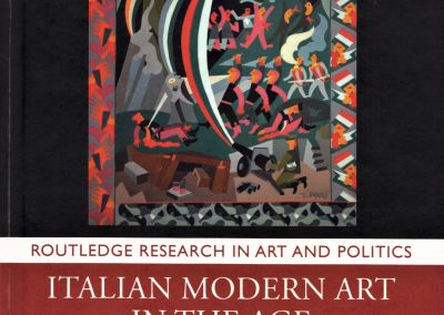 Italian Modern Art in the Age of Fascism book launch: Thursday 24 October, 6pm