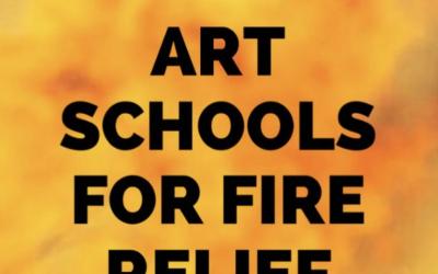 Art Schools for Fire Relief