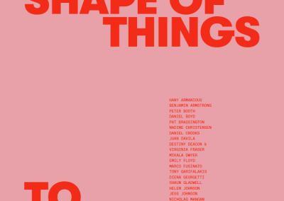 The shape of things to come – Exhibition catalogue