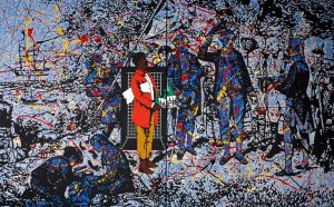 'Unfinished Business: The Art of Gordon Bennett' at QAGOMA, Brisbane, until 21 March 2021